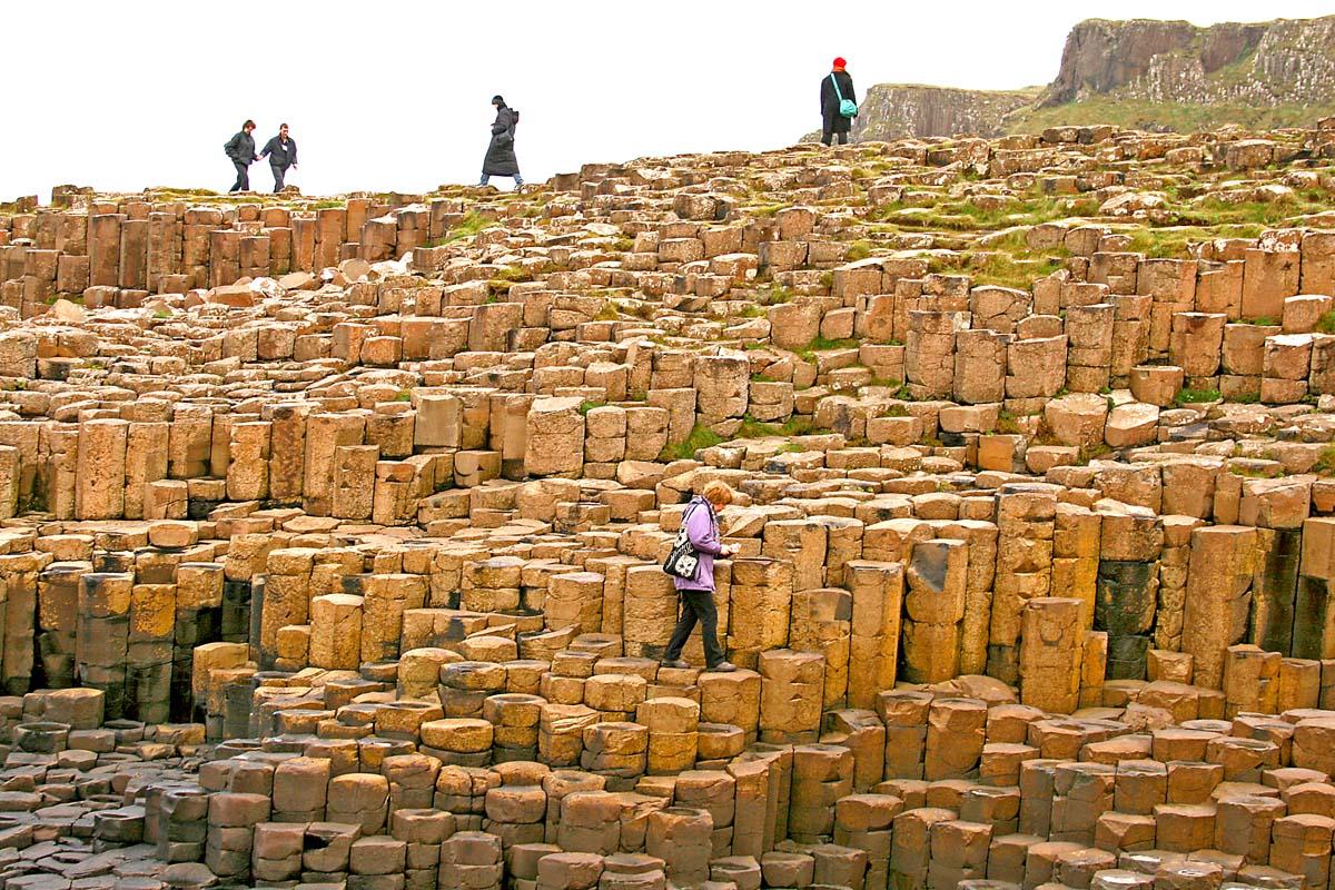 3.7.2020: Irland – Giant's Causeway
