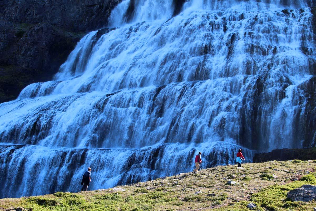 16.7.2020: Island – Dynjandifälle
