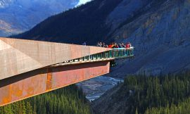 6.7.2020: Kanada – Glacier Skywalk